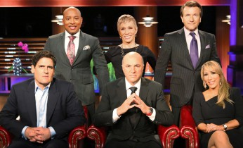 "SHARK TANK - Mark Cuban, Daymond John, Barbara Corcoran, Kevin O'Leary, Robert Herjavec and Lori Greiner are ""Sharks"" on ABC's ""Shark Tank.""  (ABC/ADAM TAYLOR)"